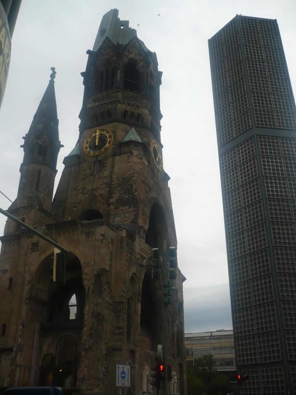Iglesia conmemorativa del Káiser Guillermo. Foto: Gigi Hunter