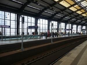 La estación de Friedrichstrasse. Foto: G.H.