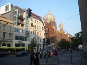 Vista de Oranienburger Strasse. Foto: G.H.