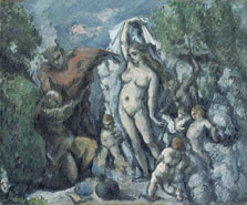 <em>La tentación de san Antonio</em> de P. Cèzanne. 1877