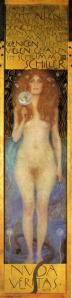 </em>Nuda veritas</em> de G. Klimt, 1899.